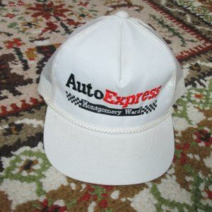 Auto Express Montgomery Ward Hat